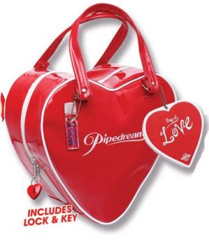 Red Heart Shaped Bag