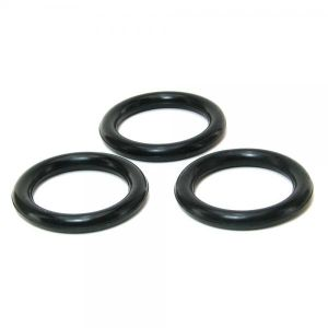 Perfect Fit 3 Ring Kit Mix Black - Medium