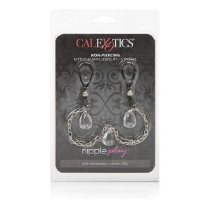 Nipple Play Non Piercing Nipple Chain Jewelry Crystal