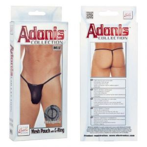 Mesh Pouch with C-Ring - M/L