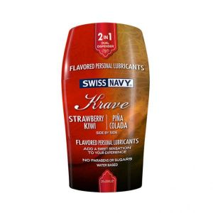 Swiss Navy Krave Flavored Lubricants