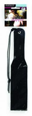 Mini Slapper With Slits 11 Inch - Black