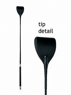 Wide Tip Bat Crop 27.5 Inch - Black