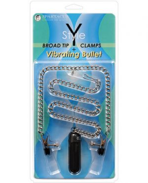 Y- Style Broad Tip Clamps W/ Vib. Bullet