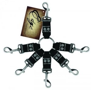 Edge Leather 6 Point Hog Tie Restraint