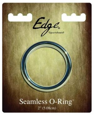 Edge Seamless 2 inches O-Ring Metal