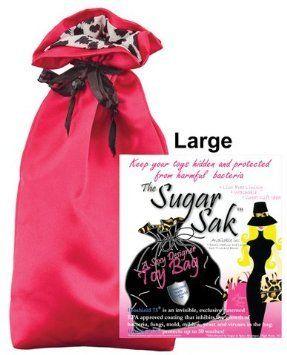 Sugar sak anti-bacterial toy bag - large