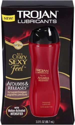 Trojan Arouses & Releases Personal Lubricant 3oz