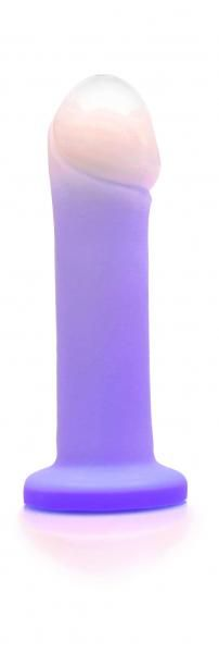 Duchess Twilight Purple Vibrating Dildo