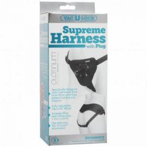 Vac-U-Lock Supreme Harness W/ Plug