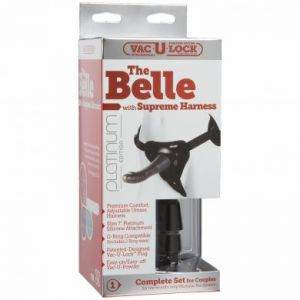 Vac U Lock Platinum The Belle Attachment With Supreme Harness Set Grey 7 Inch