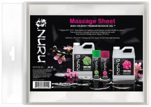 Wet Nuru Massage Sheet