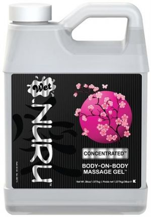 Wet Nuru Concentrated Massage Gel 38oz