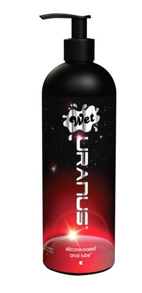 Wet Uranus Silicone Based Anal Lube 15.7 oz