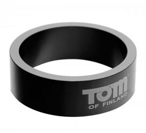 Tom Of Finland Aluminum Cock Ring 2.36 inches